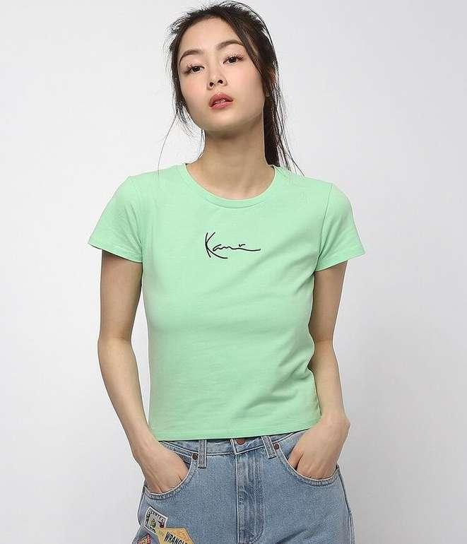 Karl Kani Signature Short Damen T-Shirt für 20,19€ inkl. Versand (statt 29€)