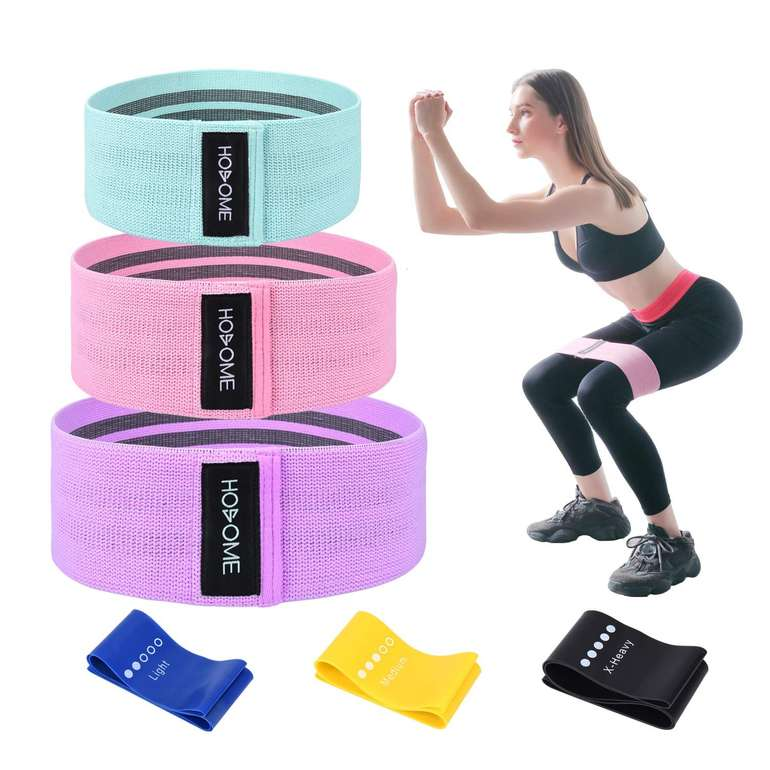 3 Hosome Produkte günstiger dank Gutschein, z.B. Fitnessbänder Set für 14,99€