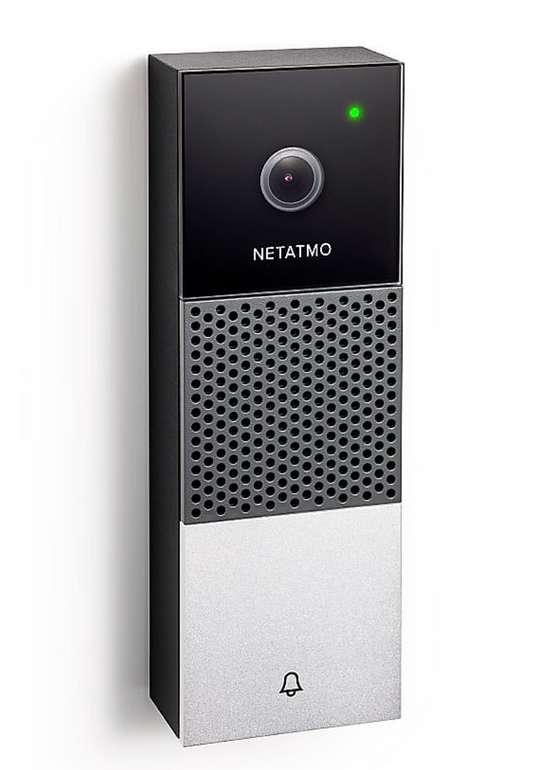 Netatmo Smarte Videotürklingel in Schwarz für 229,90€ inkl. Versand (statt 266€)