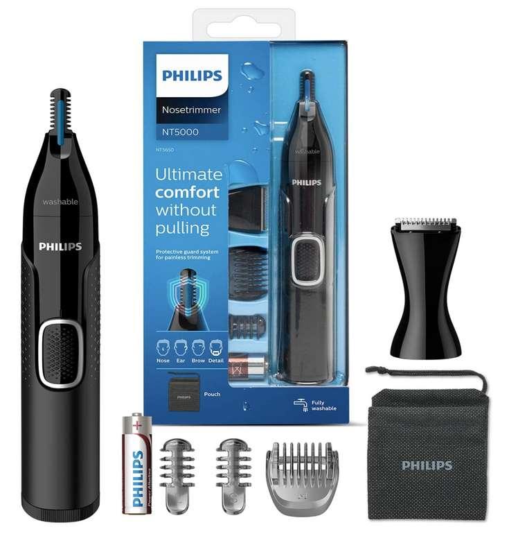 Philips NT5650/16 Nasen und Ohrenhaartrimmer Series 5000 für 15,99€inkl. Prime Versand (statt 26€)