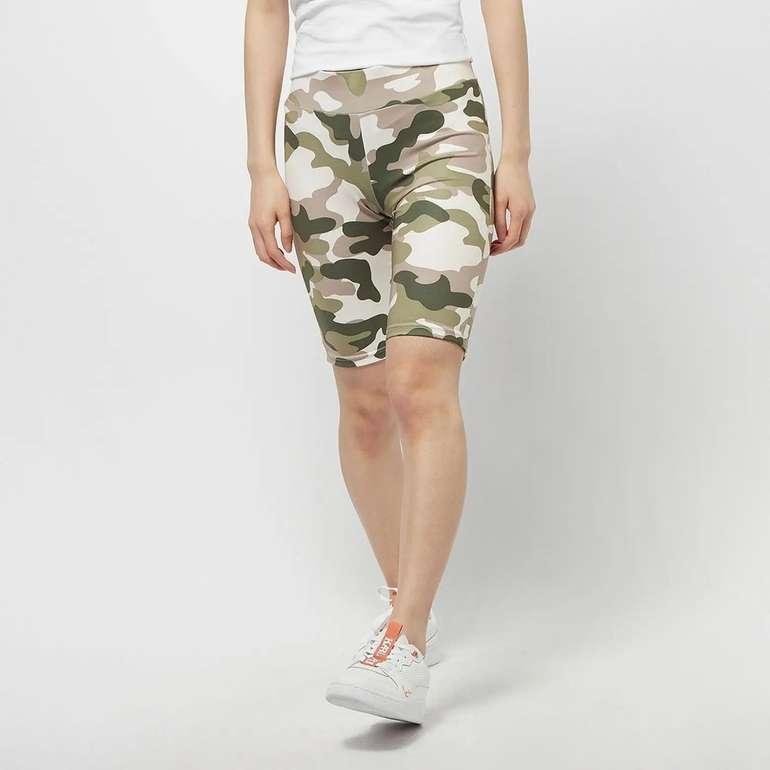 Urban Classics High Waist Camo Tech Cycle Damen Shorts für 14,49€ inkl. Versand (statt 20€)
