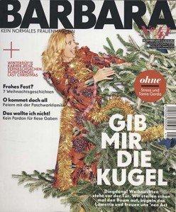 """Jahresabo der Zeitschrift """"Barbara"""" für 45€ + 35€ Amazon Gutschein"""