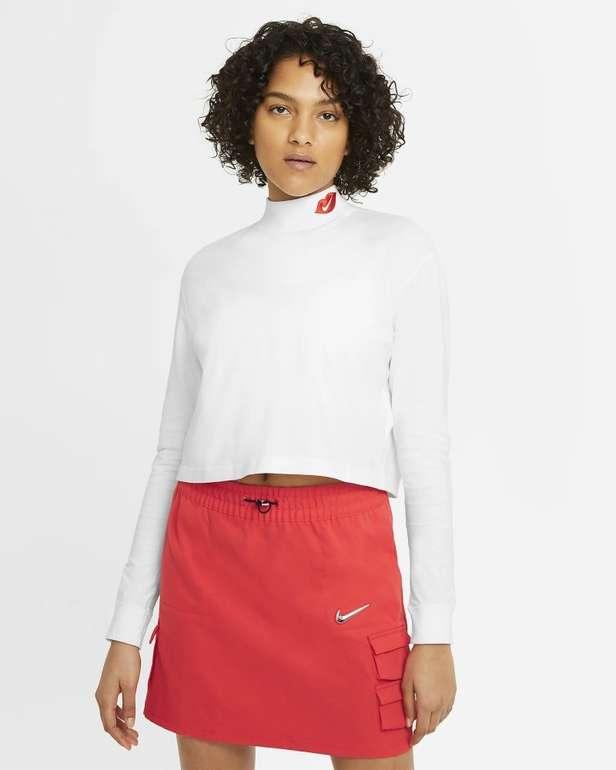 Nike Swoosh Lip Damen Langarm-Shirt für 19,18€ inkl. Versand (statt 24€) - Nike Membership!