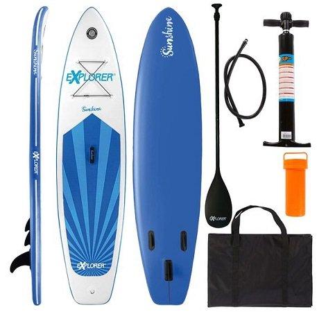Explorer Stand Up Paddle Set SUNSHINE (305 x 81 x 12cm) für 323,95€ (statt 450€)