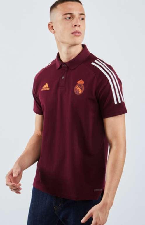 "Adidas Real Madrid European Poloshirt in ""maroon"" für 29,99€ inkl. Versand (statt 42€)"