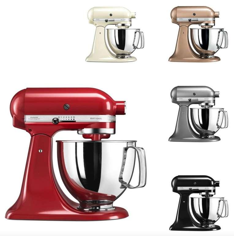 KitchenAid 5KSM125E Artisan Küchenmaschine 4,8L für 319€ inkl. Versand (statt 402€) - refurbished!