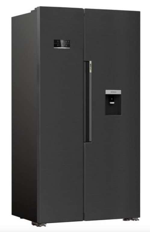 Beko GN163241XBRN Side-by-Side (179 cm hoch, 91 cm breit, NoFrost, DualCooling) für 695,95€ (statt 799€)