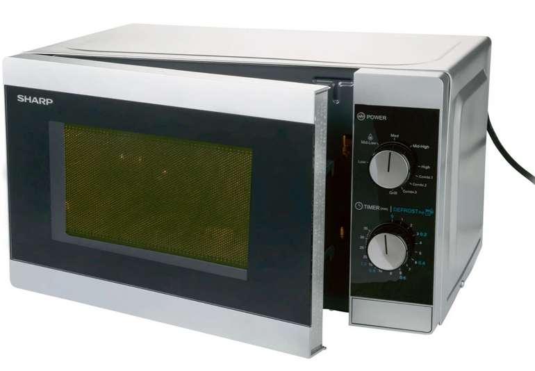 """Sharp Mikrowelle """"YC-MG01ES"""" mit 20 Liter Volumen für 59,99€ inkl. Versand (statt 75€)"""