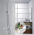 Homelody Duschsystem mit Ablage und Regendusche für 99,99€ (statt 170€)