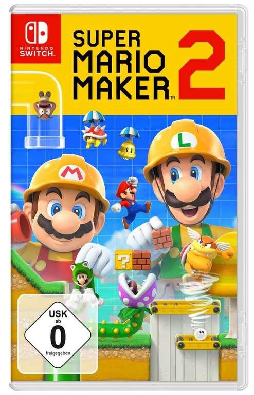 Super Mario Maker 2 (Switch) für 38,85€ inkl. Versand (Mastercard)