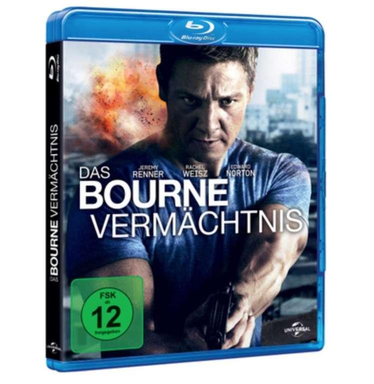 Das Bourne Vermächtnis (Blu-ray) für 3,66€ inkl. Versand (statt 9€)