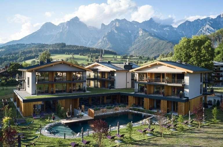 Österreich, Maria Alm: ab 2 Übernachtungen in 4* Hotel MorgenZeit + 3-Gänge Menü (Anreisetag) + Frühstück ab 174€ pro Person bei einer Reise zu zweit!