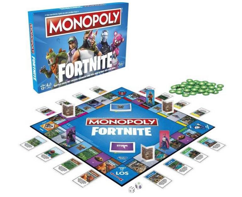 Hasbro Monopoly: Fortnite Edition für 15,66€ inkl. Versand (statt 22€)