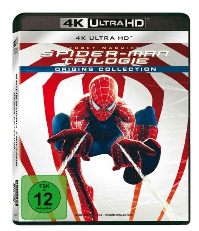Spider-Man 1-3 (4K Ultra HD Blu-ray) für 29,99€ inkl. Versand (statt 51€)