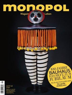 """Jahresabo der Zeitschrift """"Monopol"""" für 118,80€ + 115€ Bestchoice Gutschein"""