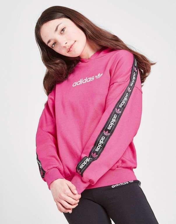 Adidas Originals Girls' Tape Boyfriend Kinderhoodie für 25€ inkl. Versand (statt 45€)
