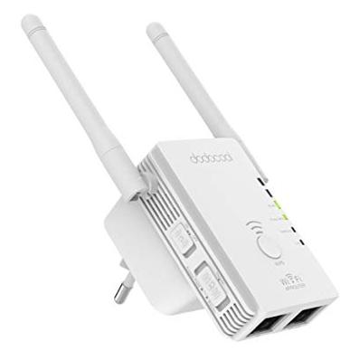dodocool N300 WLAN Repeater (300 Mbit/s, 2,4 GHz, WPS) für 13,99€ (statt 20€)