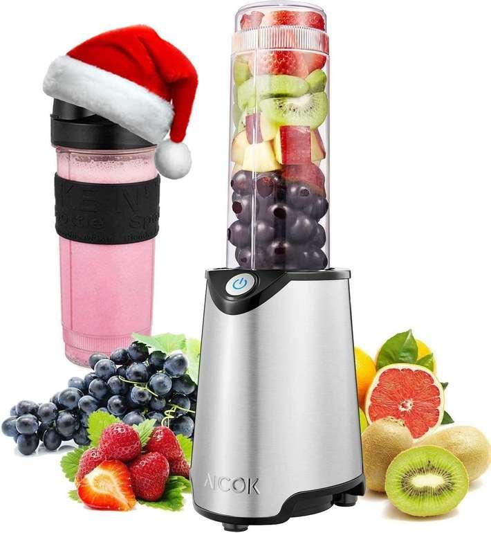 Aicok Mix & Go Standmixer mit 600ml Trinkflasche für 16,99€ inkl. Prime Versand (statt 23€)