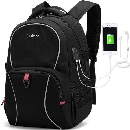 Myhozee - Laptop Rucksack (wasserdicht, Diebstahlschutz, USB) für 15,99€ (Prime)