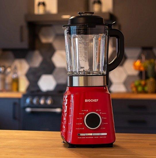 Biochef Vakuum-Mixer Aurora mit Kochfunktion & 2 Liter Glasbehälter für 105,94€ inkl. Versand (statt 300€)