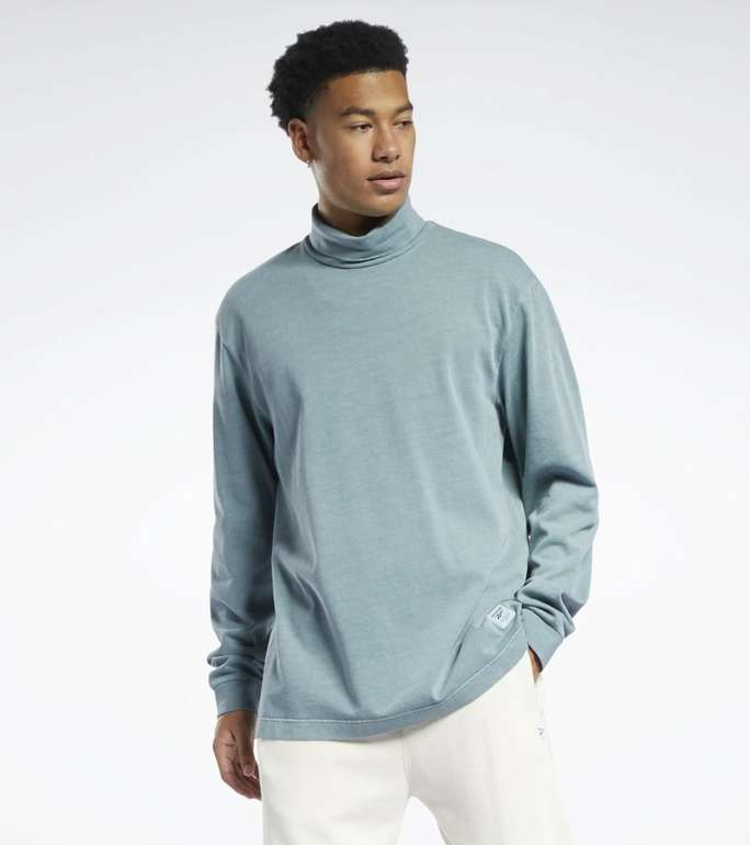 Reebok Classics Natural Dye Long-Sleeve Herren Shirt in 2 Farben für je 28€ (statt 38€)