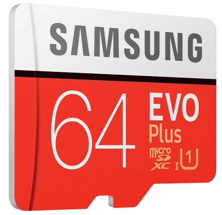 Samsung microSDXC EVO Plus (2020) 64GB für 7,99€ inkl. Versand (statt 12€)