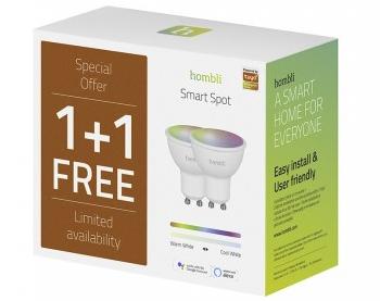 Hombli Smart Spot GU10 Leuchten im 2er-Pack für 17,50€inkl. Versand (statt 36€)