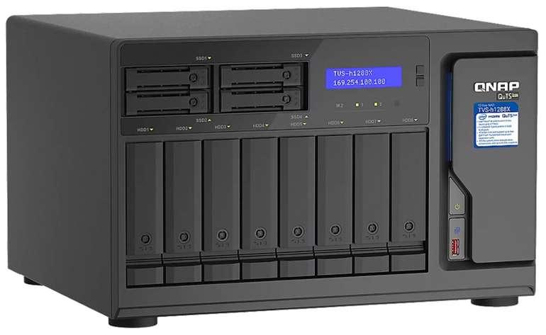 Preisfehler?! QNAP TVS-h1288X-W1250-16G NAS System 12-Bay für 143,09€ inkl. Versand (statt 2430€)