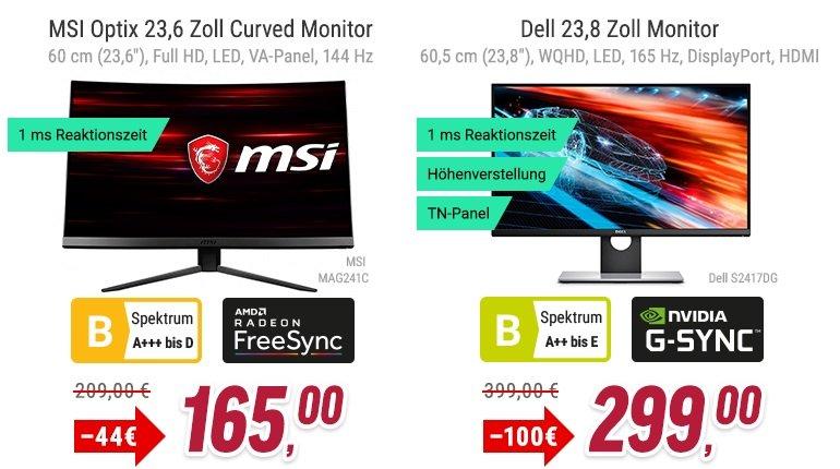NBB mit 20% Rabatt auf ausgewählte Monitore 3