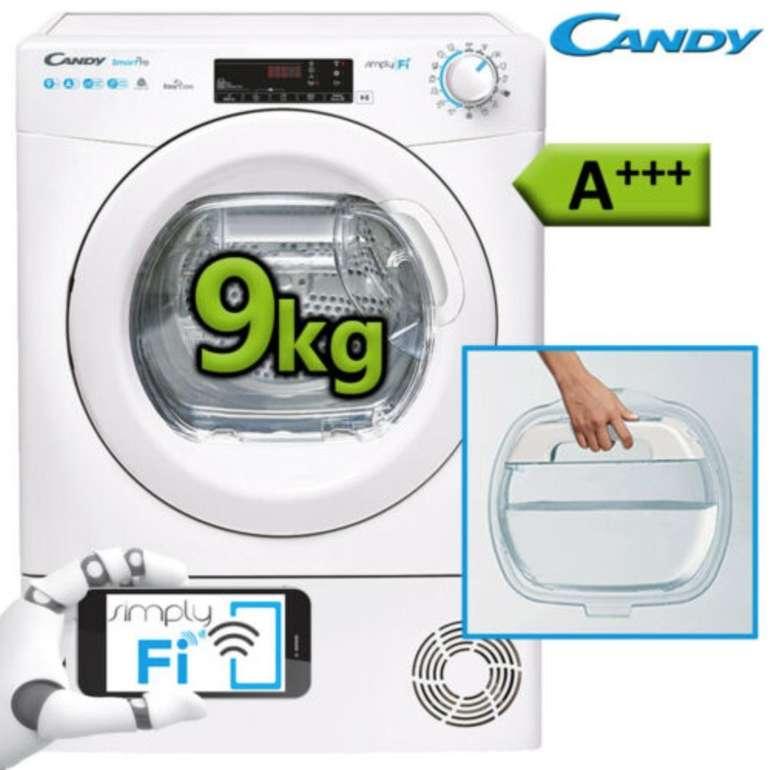 Candy Candy CSO H9A3TE-S Wärmepumpentrockner (9 kg, WiFi, Frontlader) für 333€ (statt 489€)