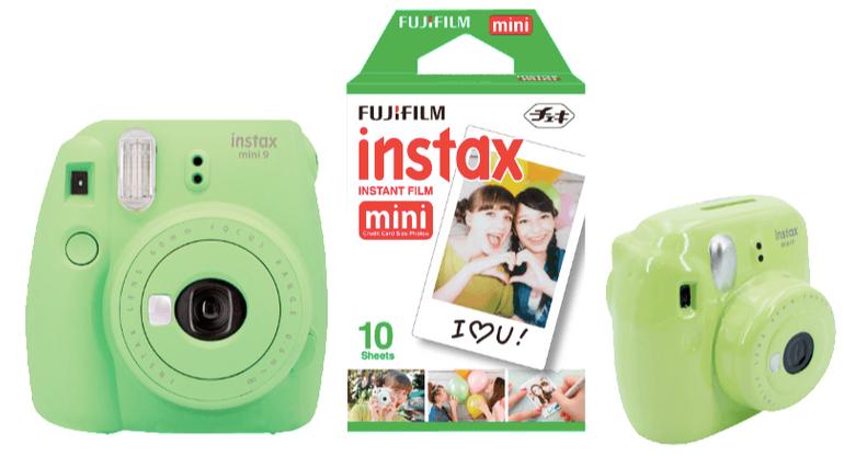 Fujifilm Instax Mini 9 Sofortbildkamera Sparset für 89€ inkl. Versand