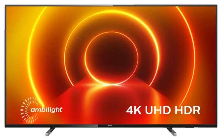 Philips 70PUS7805/12 LED TV Flat mit 70 Zoll (UHD 4K, SMART TV, Ambilight) ab 749€(statt 828€)