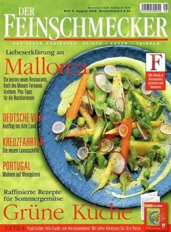 """Jahresabo """"Der Feinschmecker"""" für 142,60€ + z.B. 75€ Bestchoice Gutschein"""