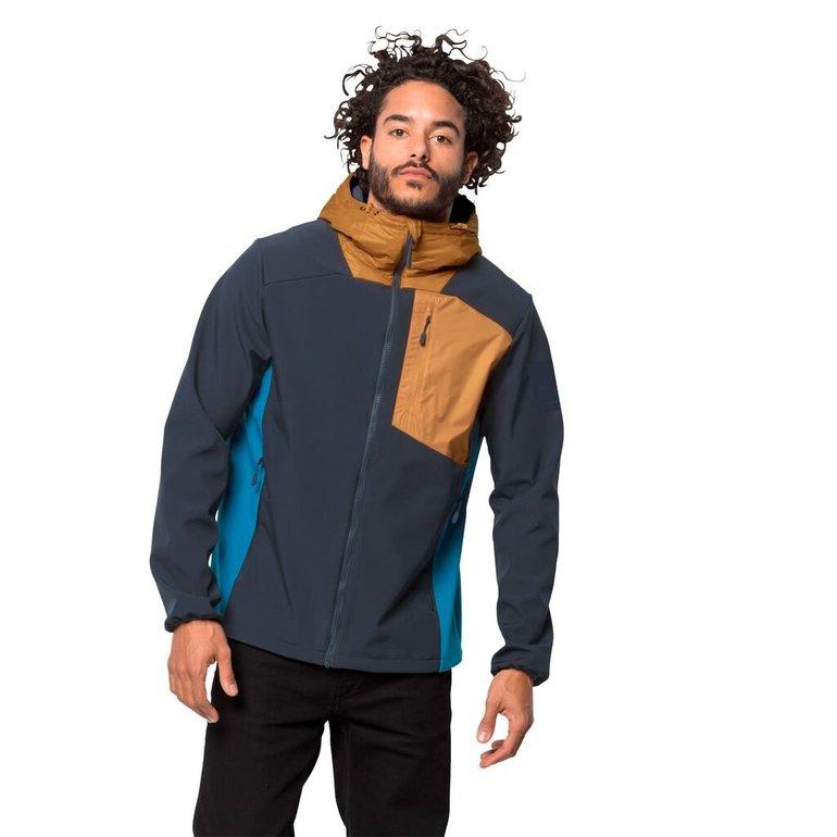 Jack Wolfskin 365 Millenium Jacket M - Winddichte Herren Softshelljacke für 75,67€