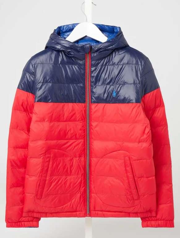 Polo Ralph Lauren Teens Wendejacke mit Kapuze in Rot für 69,99€inkl. Versand (statt 100€)
