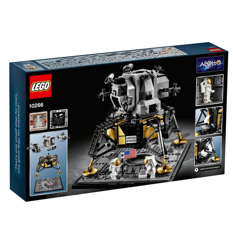 Lego Creator Expert NASA Apollo 11 Mondlandefähre (10266) zu 89,99€ (statt 110€)
