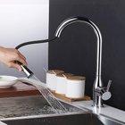 Homelody 360° drehbarer Wasserhahn mit Mischbatterie & ausziehbarer Brause für 39,99€