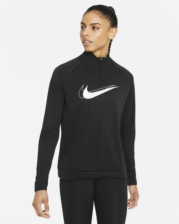 Nike Dri-Fit Swoosh Run Damen Midlayer Laufoberteil in 4 Farben für je 29,99€ (statt 37€) - Nike Membership!