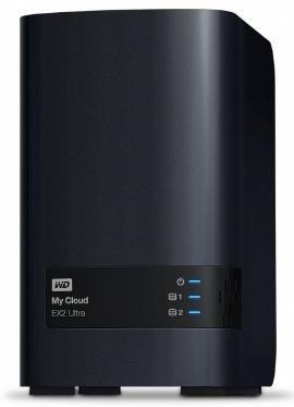 Western Digital My Cloud EX2 Ultra 2-Bay NAS mit 16TB für 488,19€ (statt 548€)