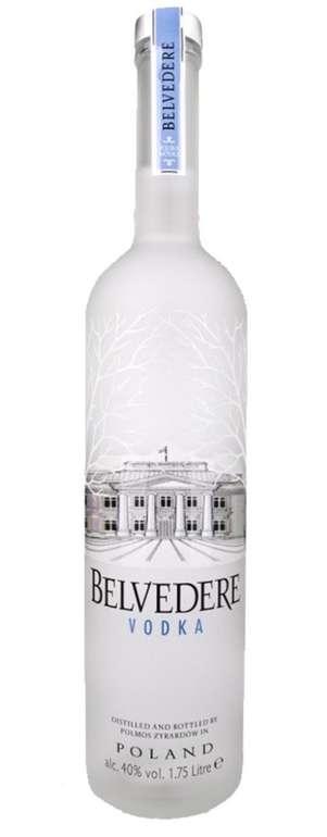 Belvedere Vodka ohne Beleuchtung (1,75L, 40% vol.) für 69,99€ (statt 87€)