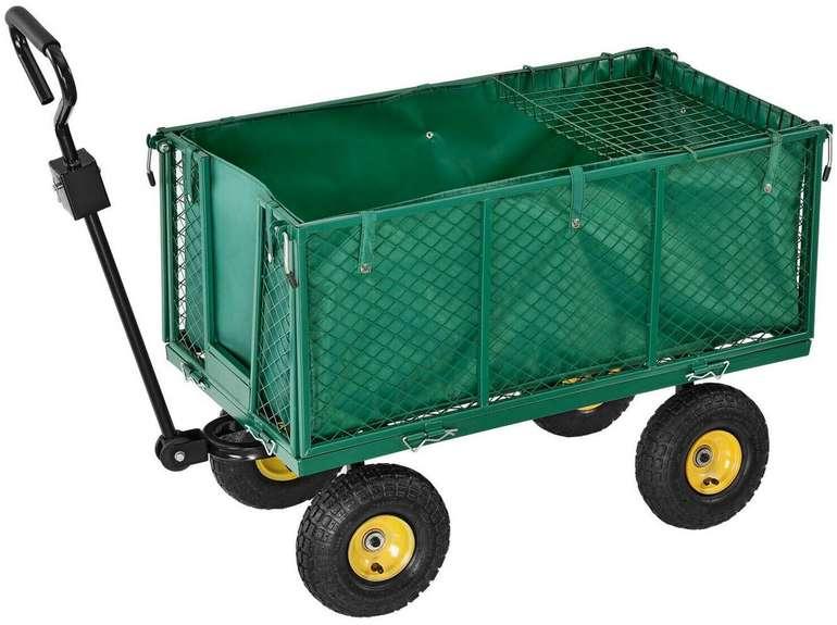 Juskys Bollerwagen mit Plane (bis 550kg) für 59,95€ inkl. Versand (statt 70€)