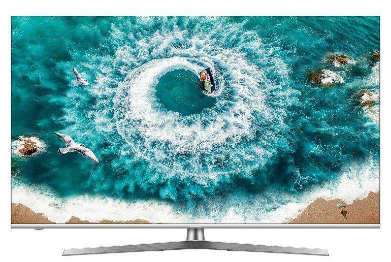 Hisense H55U7B 55 Zoll Ultra HD 4K LED Smart TV für 422,10€ (statt 493€)