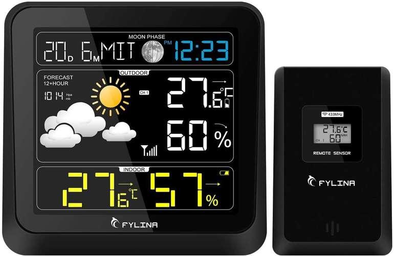 Fylina Wetterstation mit Außensensor für 14,79€ inkl. Versand (statt 30€)