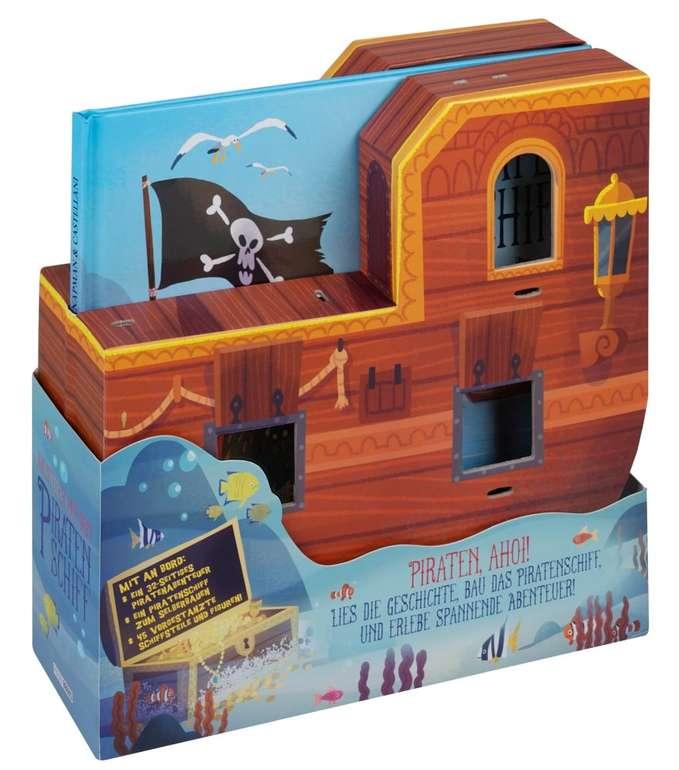 Abenteuer auf dem Piratenschiff (Buch + Piratenschiffmodell) für 6,99€ inkl. Versand (statt 17€)