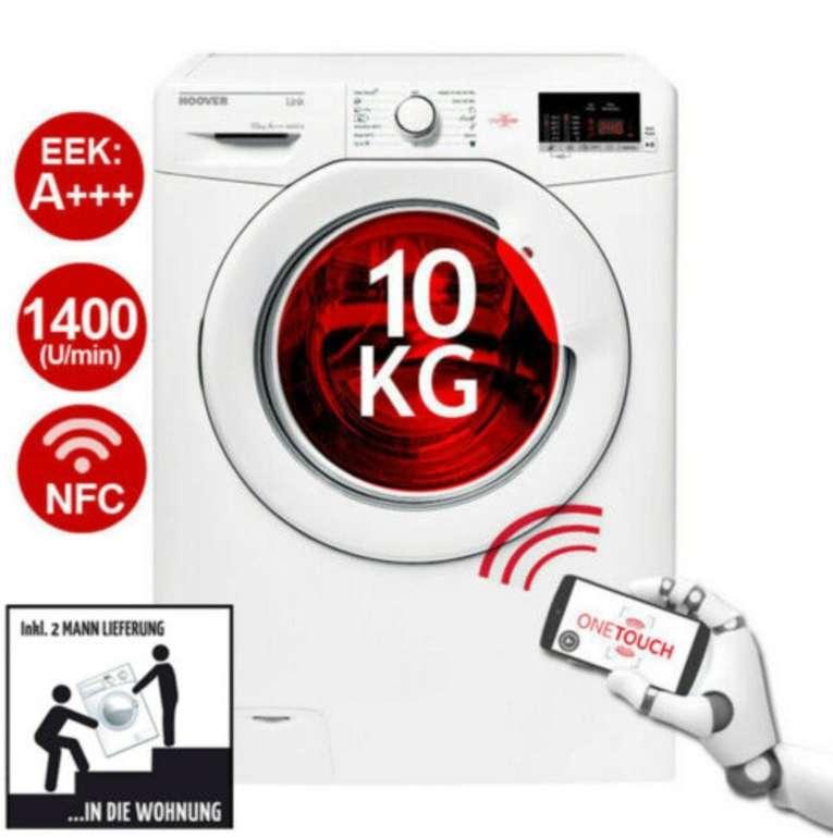Hoover HL 14102D3-S - 10kg Waschmaschine mit NFC Technologie für 289,90€ (statt 335€)