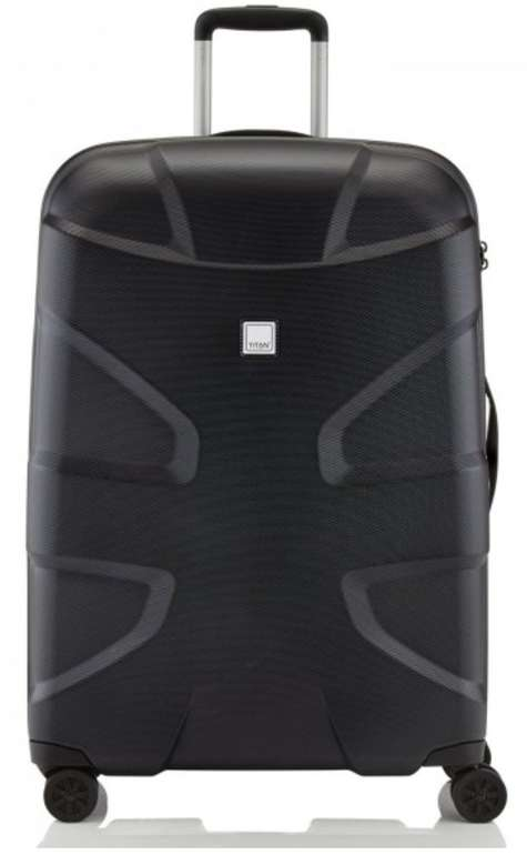 Titan X2 Flash 4-Rollen-Trolley mit 76 cm Höhe und TSA-Zahlenschloss für 84,99€ inkl. Versand (statt 107€)