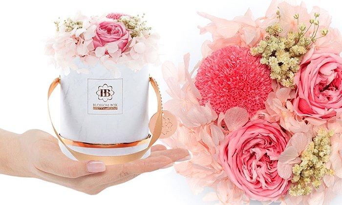Groupon: Wertgutscheine für Hutboxen bei Blossom Box, z.B. 100€ für nur 56€