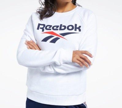 Reebok Classics Vector Crew Sweatshirt - Weiß für 21,98€ inkl. Versand (statt 40€)