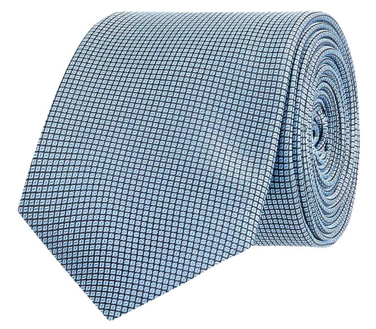Hugo Boss Krawatte aus reiner Seide in Hellblau für 19,99€inkl. Versand (statt 30€)