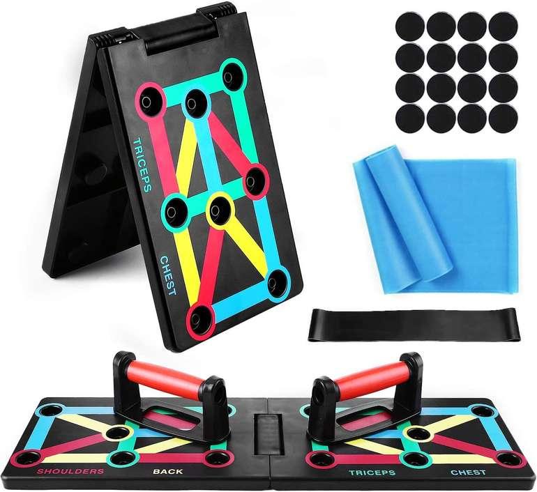 Tomshoo 12-in-1 Push-Up-Board + Widerstandsbänder für 15,99€ inkl. Prime Versand (statt 27€)
